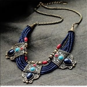Jewelry - Lapis and turquoise necklace